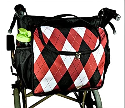 Wheelchair Bag, Wheelchair Bag For Back Of Chair, Wheelchair Carry Tote, Wheelchair Storage Bag