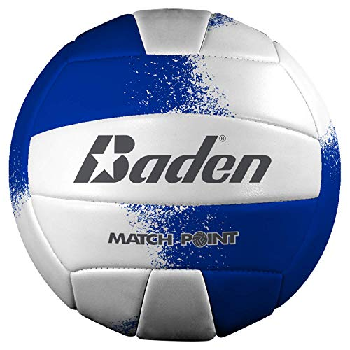 (Baden Match Point Volleyball (Official Size) Royal Blue/White)