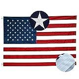 Best American Flag 3x5 Outdoors - Xibaeu American Flag 3x5 ft- Durable 210D Nylon Review