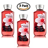 Japanese Cherry Blossom Shower Gel Body Wash - Set of THREE (3) bottles