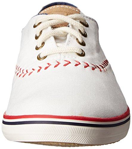 Womens Keds Campione Mlb Baseball Di Modo Gagliardetto Sneaker Boston Red Sox