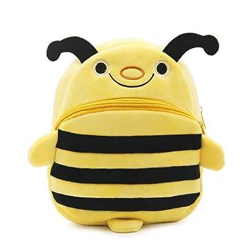 Vvciic Cartoon Bee Shape Mochilas Lindo Bebé Niños Escolar Bolsas Regalo: Amazon.es: Bebé
