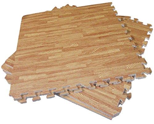 Funkybuys tappetino effetto legno ad incastro in eva ideale