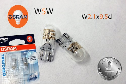 Osram Or-23-24337 Kennzeichenbeleuchtung Set T10 W5W 12V 5W