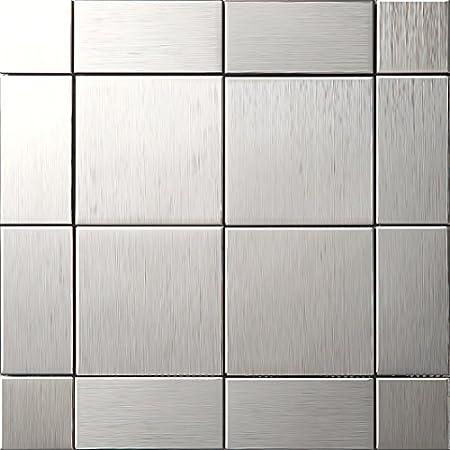 textured metal home decor mosaic tiles building materials metal