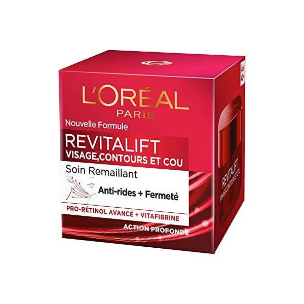 L'Oréal Paris – Revitalift – Soin Remaillant Visage Contours et Cou – Anti-Rides & Extra-Fermeté – Anti-Âge – 50 mL