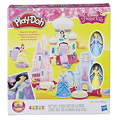Play-Doh Conjunto Massinha Reino Brilhante