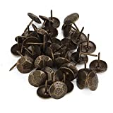 Upholstery Nails Bronze Furniture Decorative Tacks Studs Pins 23x20mm Pack Of 50