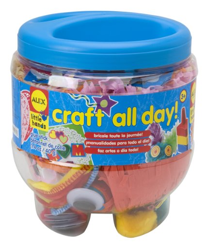 ALEX Toys Little Hands Craft All Day Preschool Craft Supply (Craft Jar)