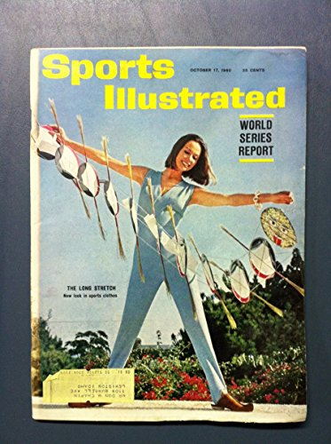 (1960 Sports Illustrated October 17 Sportswear (World Series Report) Fair to Good [[Moisture - readable throughout]])
