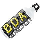 Water Bottle BDA Airport Code for Bermuda 20oz / 600ML