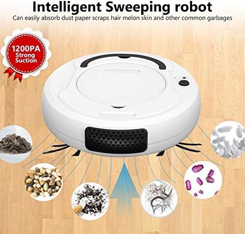 Joule Aspirateur Automatique Robot Balayage Intelligent Noir Gris Blanc Multifonctionnel Robot Sol de la saleté de la poussière Nettoyage des Cheveux Balai à la Maison