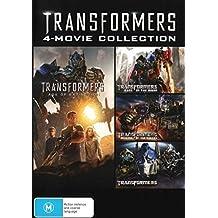 Transformers / Revenge Of Fallen / Dark Of Moon / Age Of Extinction | 4 Discs | NON-USA Format | PAL | Region 4 Import - Australia