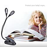 Led Book Reading Light/USB and Battery Operated