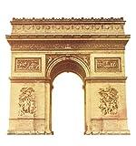 Paris Arc de Triomphe - Paris Party Theme - Advanced Graphics Life Size Cardboard Standup