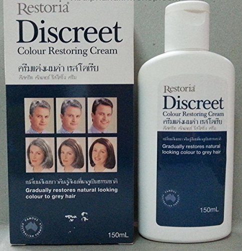 [Restoria Discreet Colour Restoring Cream 150 ml] (Twin Costumes Diy)
