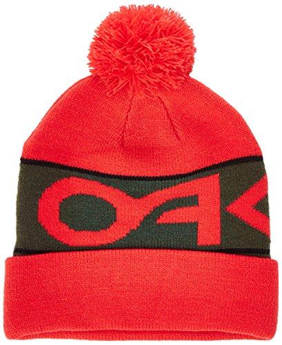 Oakley Factory Cuff Beanie, Red Line, Size - Zero Oakley