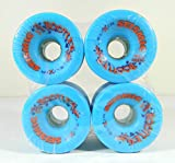 Good Skateboard Elixir 70Mm 84A Longboard Wheels Blue