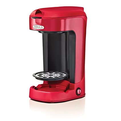Amazoncom Bella Bla13711 One Scoop One Cup Coffee Maker Red