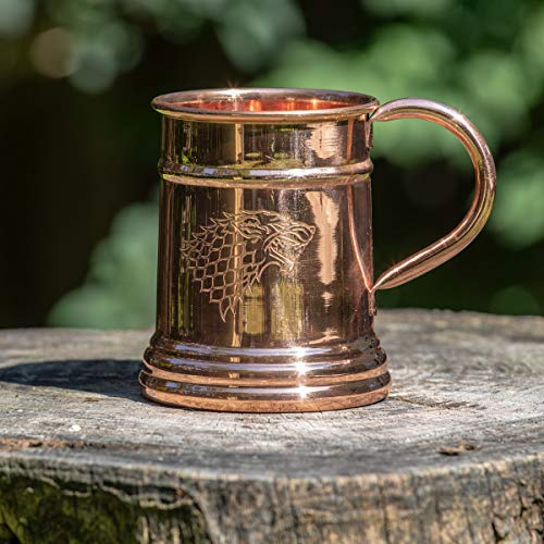 Game of Thrones Collectible Copper Stein (Stark) by Calhoun (Image #1)