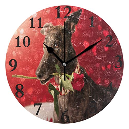 lightly Personalized Non Ticking Silent Clock Art Living for sale  Delivered anywhere in USA