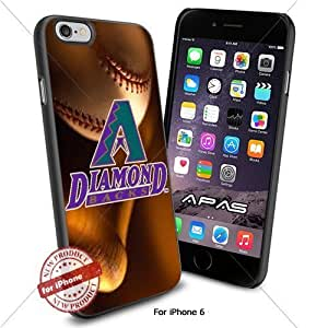 Arizona Diamondbacks MLB ,Cool Iphone 6 Smartphone Case Cover Collector iphone TPU Rubber Case Black color [ Original by WorldPhoneCase Oly ]