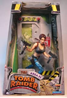 Rencontres la féroce Doberman Figure Set-Playmates Tomb Raider Lara Croft