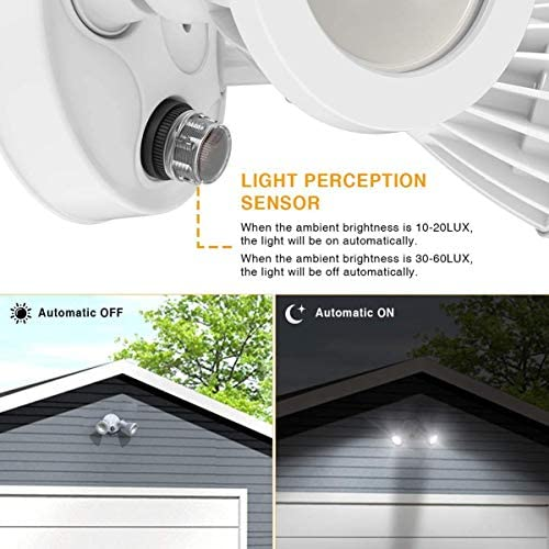Onforu 2 Pack 30W Dusk to Dawn LED Security Light