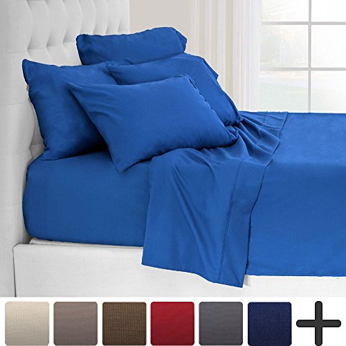 5 Piece Premium 1800 Ultra-Soft Microfiber Twin Extra Long S