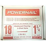 Powernail- Powercleats 18 Gauge Flooring Nails 1 3/4inches- 5,000 Nails