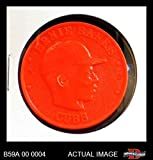 1959 Armour Coins # 4 RED Ernie Banks Chicago Cubs (Baseball Card) (Red) Dean's Cards 6 - EX/MT Cubs