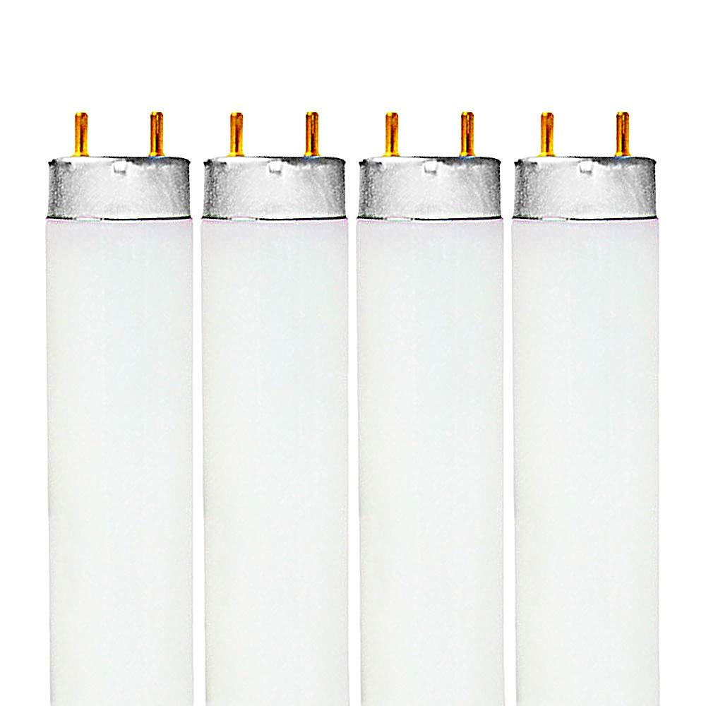 Luxrite LR20740 (4-Pack) F32T8/735 32-Watt 4 FT T8 Fluorescent Tube Light Bulb, Natural 3500K, 2850 Lumens, G13 Medium Bi-Pin Base