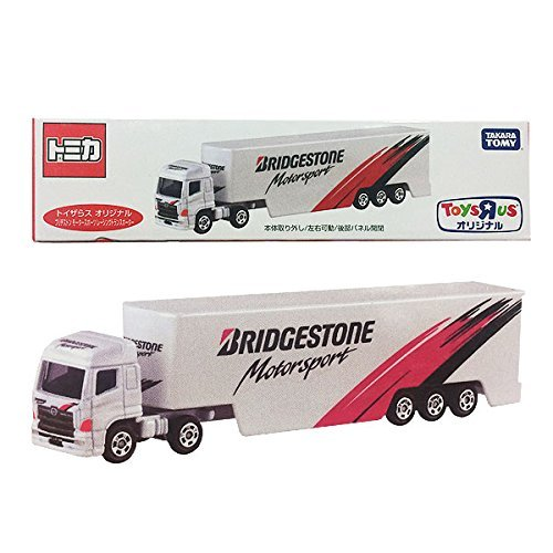 Tomica Toys 'R' Us Original Bridgestone motorsport racing transporter (japan import)