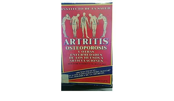 Artritis osteoporosis y otras enfermedades de los huesos y articulaciones (Spanish Edition): Emerito M. Roncali: 9780939193349: Amazon.com: Books