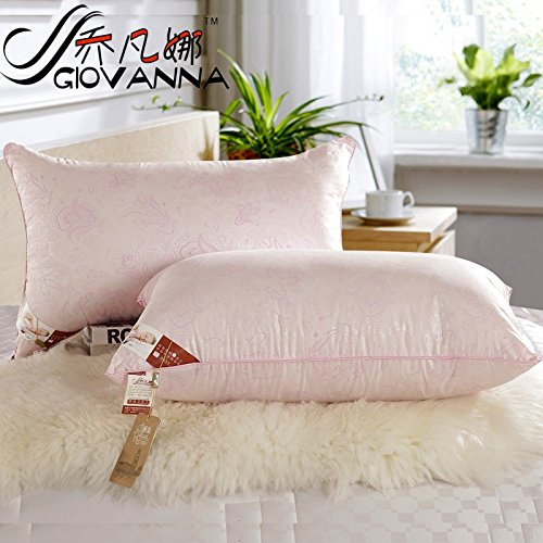 upscale-comfort-inn-single-pillow-super-soft-high-stretch-pillow-microfiber-pillow-pink