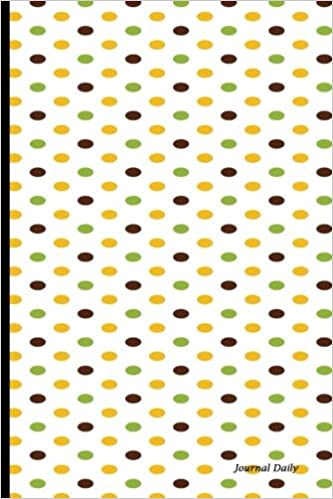 Journal Daily: dot journal design, Lined Blank Book Journal, 6 x 9, 150 Pages