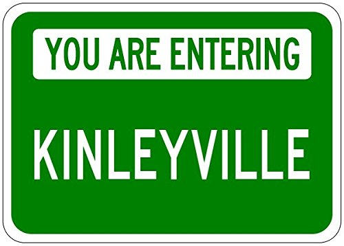you-are-entering-kinleyville-customized-kinley-lastname-10x14-quality-aluminum-sign