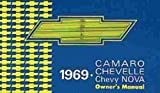 1969 CHEVY CAMARO OWNERS INSTRUCTION & OPERATING MANUAL - USERS GUIDE - INCLUDES; Z28, Z-28, RS, SS, RALLY SPORT, SUPER SPORT 69