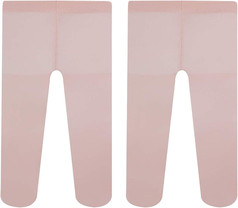 40 DEN Rosa Assortito Panna Calzamaglia B/éb/é CALZITALY 2 Paia Collant Neonata in Microfibra Bianco Made in Italy