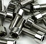 Juscycling M5 Hex Socket Tapping Screw Bolts for