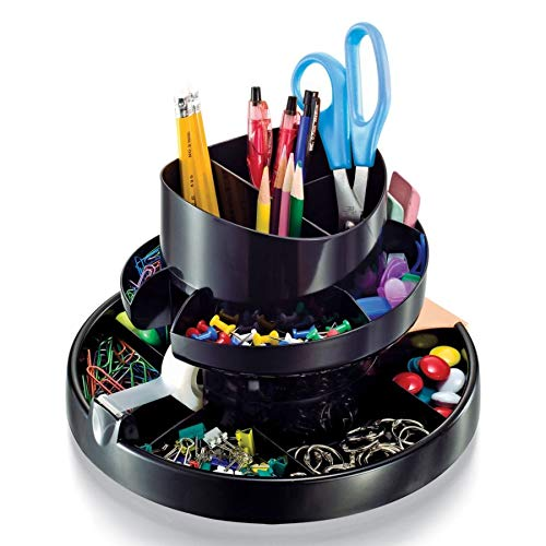 Office Depot 30% Recycled Deluxe Rotary Organizer, 10417