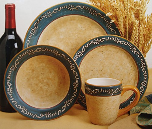Noble Excellence Cafe Delight Four Piece Place Setting