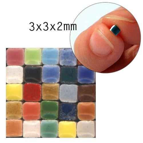 Mosaic-Minis (3x3x2mm), 1000 pieces, Random mix all, MXAL