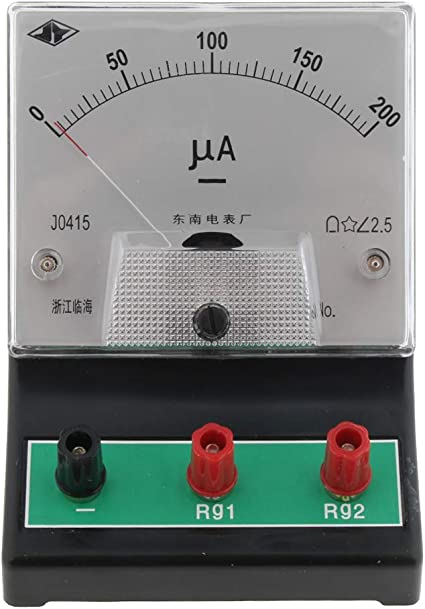 Electric 100 µA New Electronics Ammeter Analog Tool