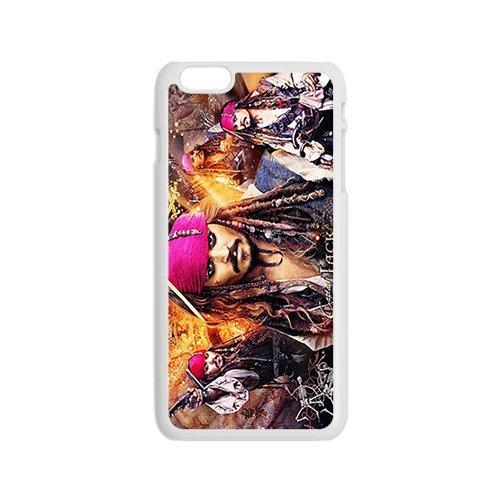 Capitan Jack Sparrow - i pirati dei Caraibi immagine modello per iPhone 6 custodia per cellulare