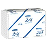 Scott Pro Scottfold Multifold Paper Towels (01960) with Fast-Drying Absorbency Pockets, White, 25 Packs/Case, 175 Trifold Towels/Packs, 4,375 Towels/Case