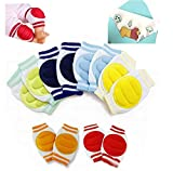 Luckystaryuan ® Big Sale!! Set of 6 Children Cotton KneePad Crawling Leg Protector