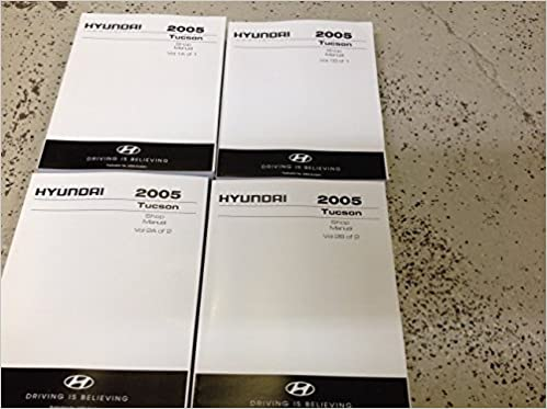2005 hyundai tucson service manual