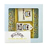 Kilner 73 Piece Label Set, Owl