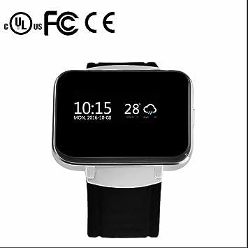 Relojes Inteligente Smart watch Bluetooth Teléfono,Escalada de Roca Correr,Control de actividad,